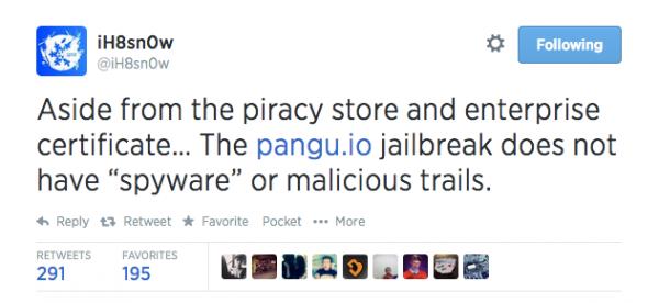 Twitter-iH8sn0w-jailbreak-tweet