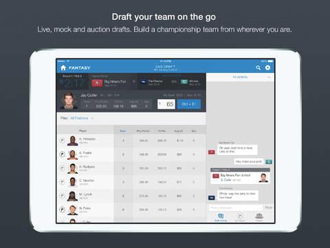 NFL-Fantasy-Football-app