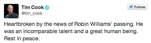Tim-Cook-Robin-Williams-Tweet