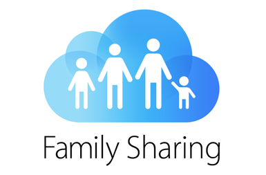 iTunes accounts via Family Sharing