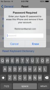 erase-iPhone-password-authentication