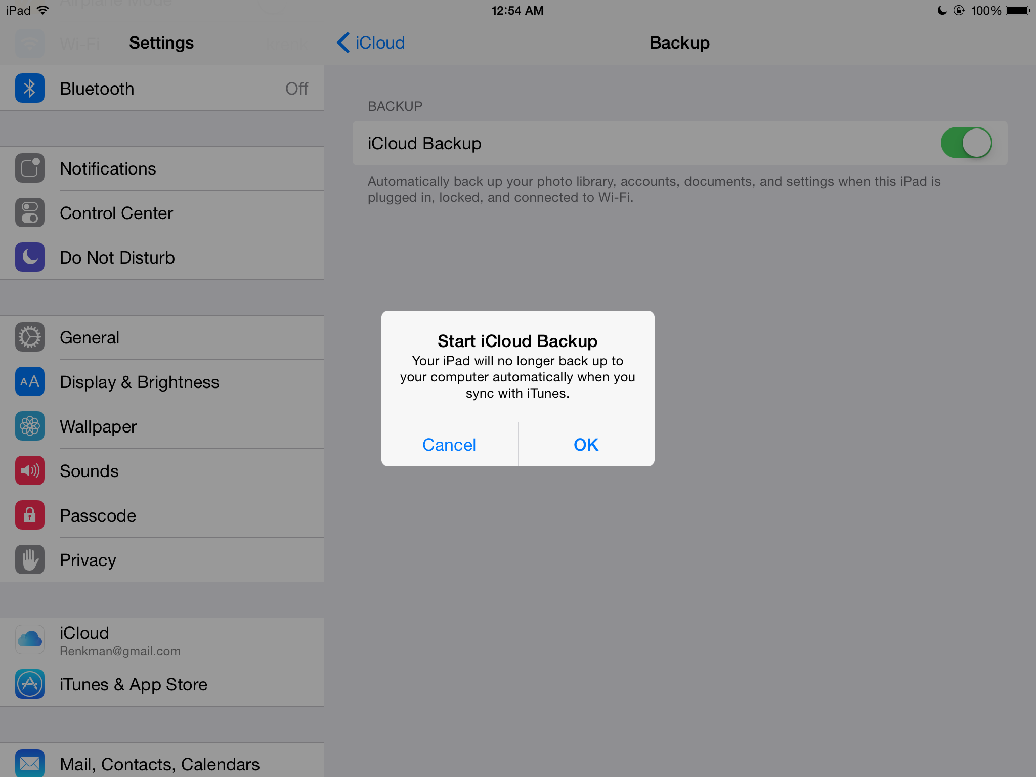 how to set up icloud backup on iphone 8