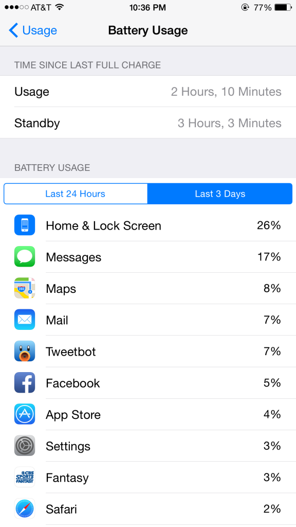 iOS-battery-usage-life