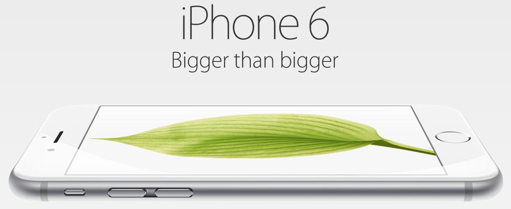 Iphone  Bigger Than