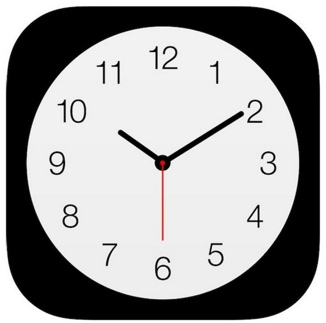 Apple-clock-icon