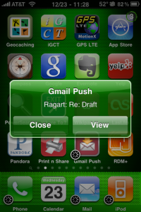 gmail push iphone review gmail push for iphone isource 10705