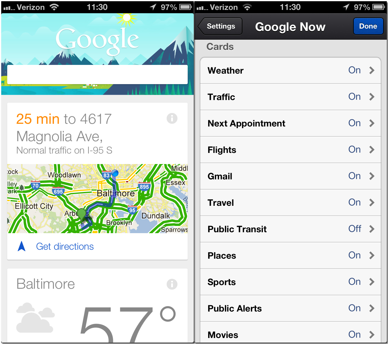 google now for iphone now for iphone isource 3029