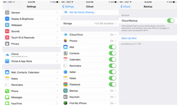 where do i go to backup my iphone how to back up your iphone to icloud in ios 8 isource 21246
