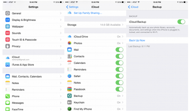 how do i backup my iphone icloud backup ios 8 isource 18440